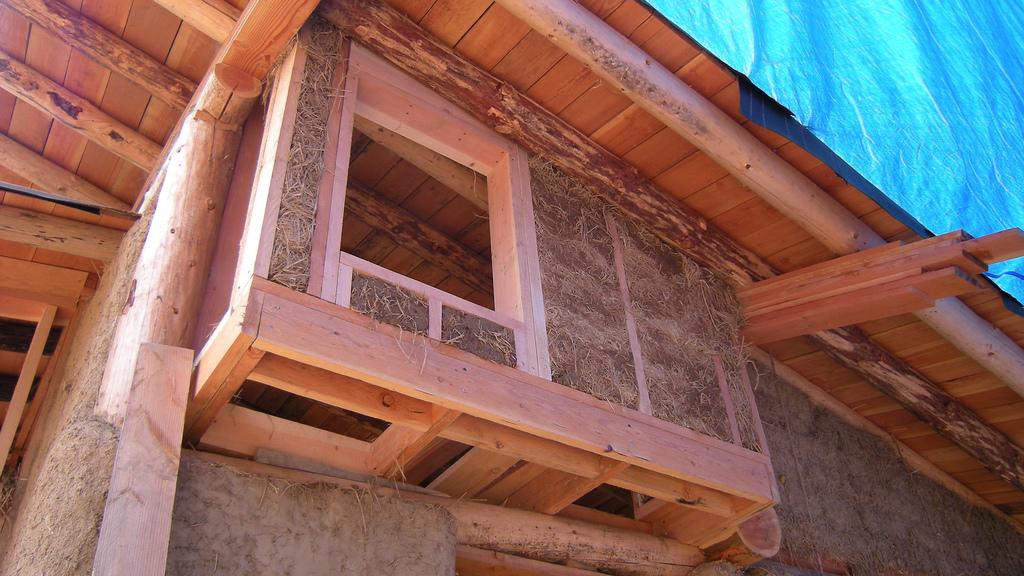 Paglia e legno for Case in legno difetti