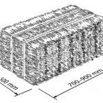 Componenti edili con isolamento in paglia